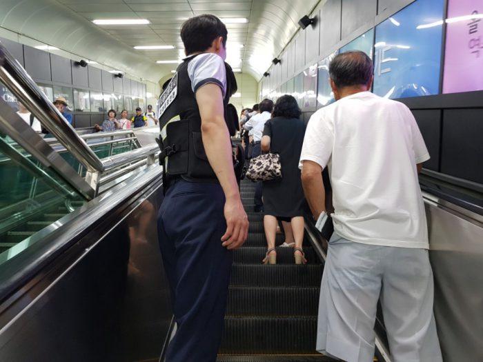 지하철 2호선 안전요원