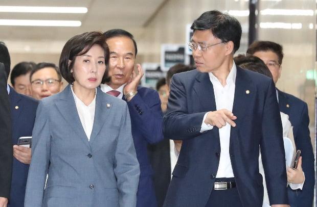 '나경원 자유한국당 원내대표 (사진=연합뉴스)